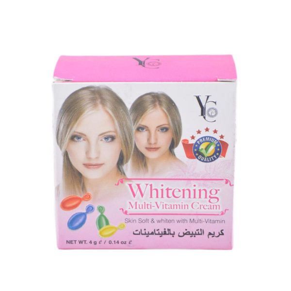 YC Thailand Multi-Vitamin Uv Protection Whitening Cream - 4Gm