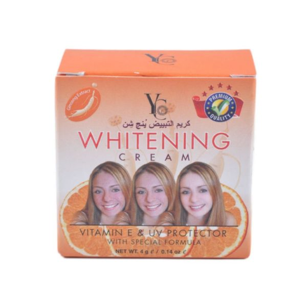 YC Thailand Whitening Cream Vitamin E & Uv Protector - 4Gm