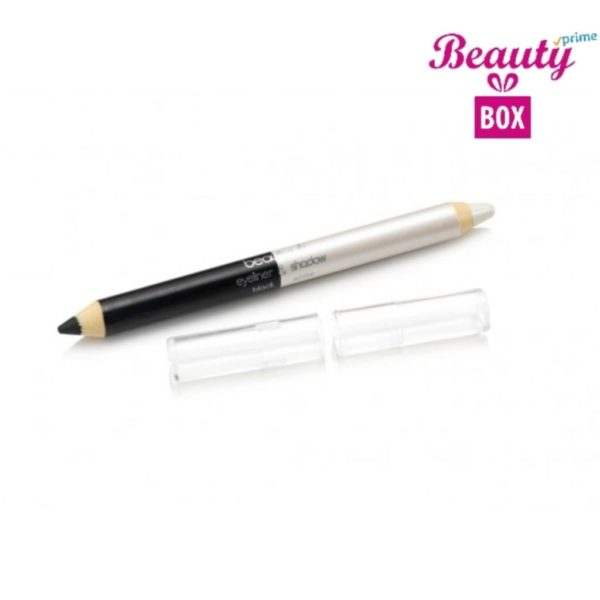 Beauty UK Jumbo Eye Liner & Eye Shadow Pencil - Black & White