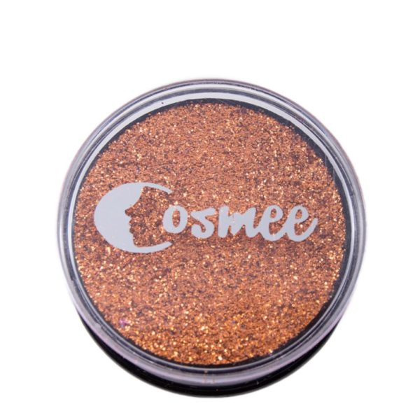 Cosmee Premium Glitter Eye Shadow - 06 Intense Orange