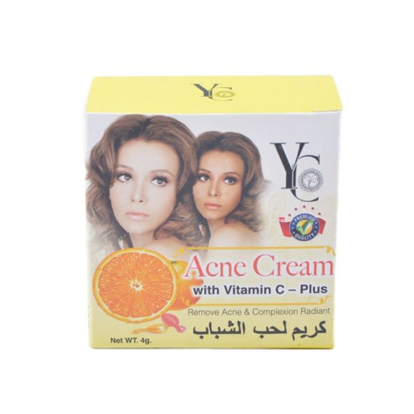 YC Thailand Vitamin C Plus Acne Cream - 4Gm