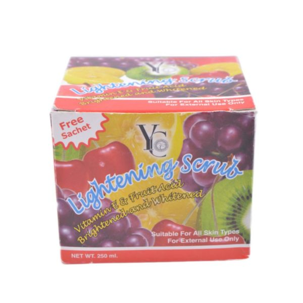 YC Thailand Lightening Fruity Scrub - 250Ml