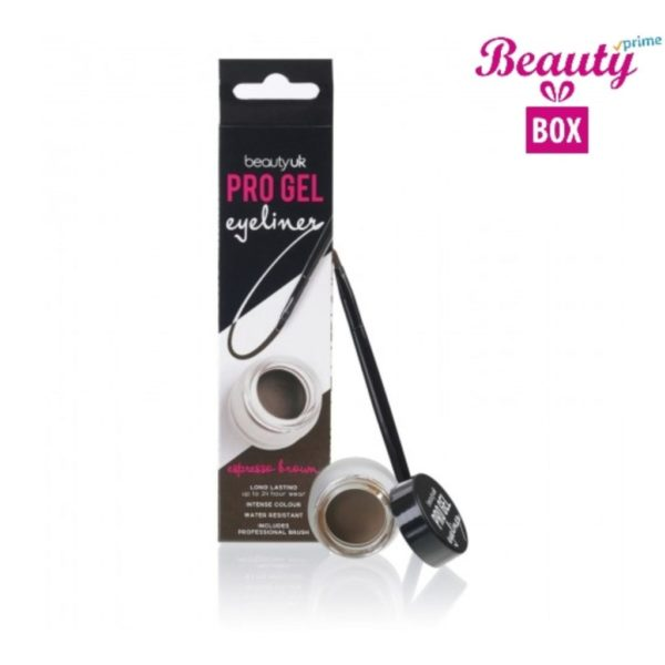 Beauty UK Pro Gel Eyeliner - 2 Espresso Brown