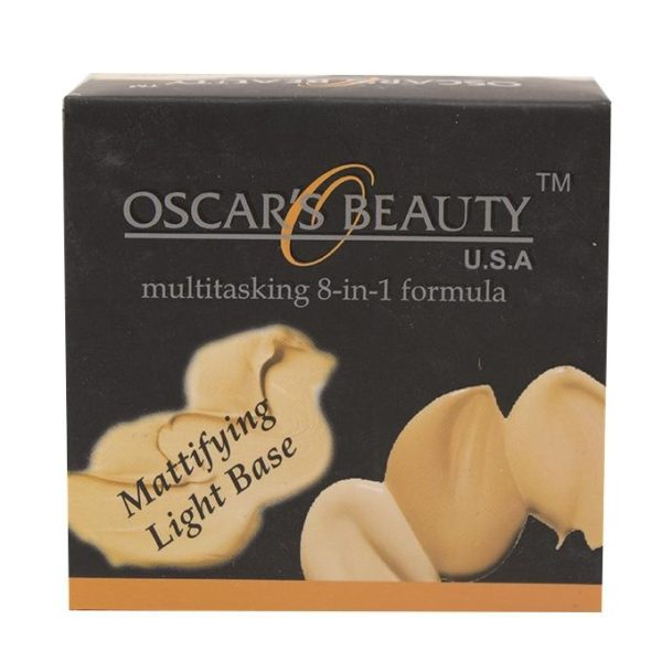 Oscar's Beauty 8-in-1 Mattifying Light Base - 3-W