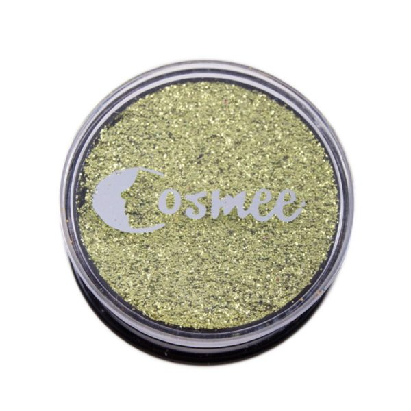 Cosmee Premium Glitter Eye Shadow - 09 Kelly Green