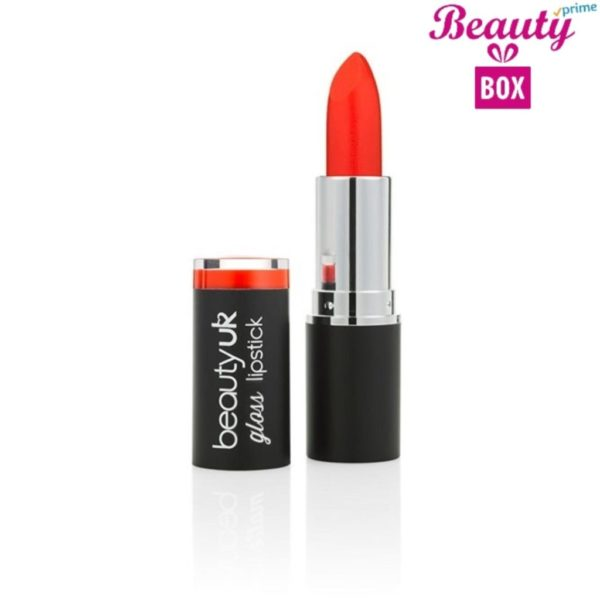 Beauty UK Gloss Lipstick - 8 Naughty