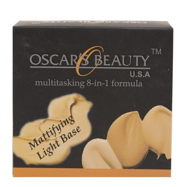 Oscar's Beauty 8-in-1 Mattifying Light Base - G-16