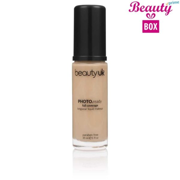 Beauty UK Photo Ready Foundation - 3 Natural