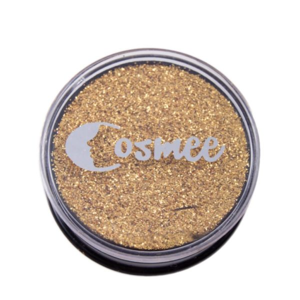 Cosmee Premium Glitter Eye Shadow - 03 Gold