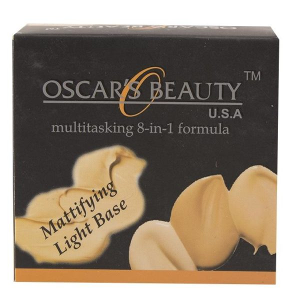 Oscar's Beauty 8-in-1 Mattifying Light Base - Fs-36