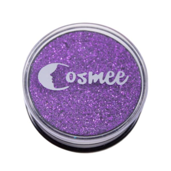 Cosmee Premium Glitter Eye Shadow - 21 Purple