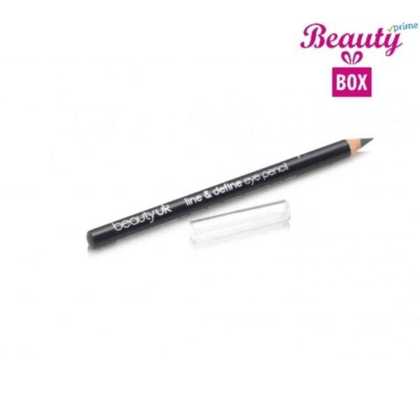 Beauty UK Line & Define Eye Pencil - 8 Dark Grey