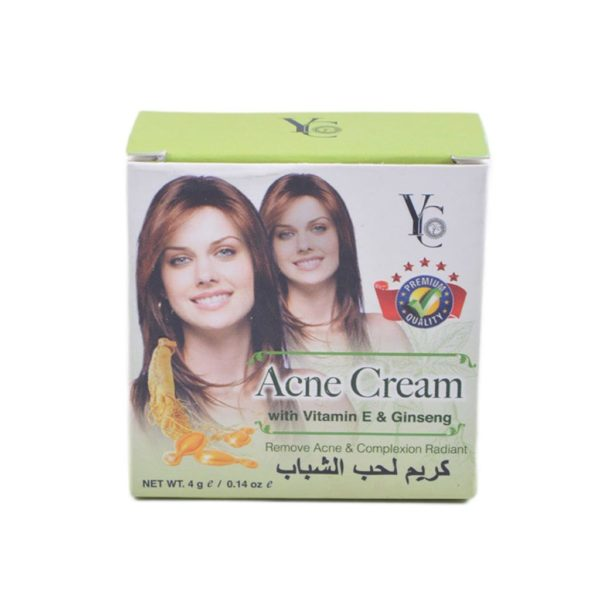 YC Thailand Vitamin E & Uv Protector Acne Cream - 4Gm