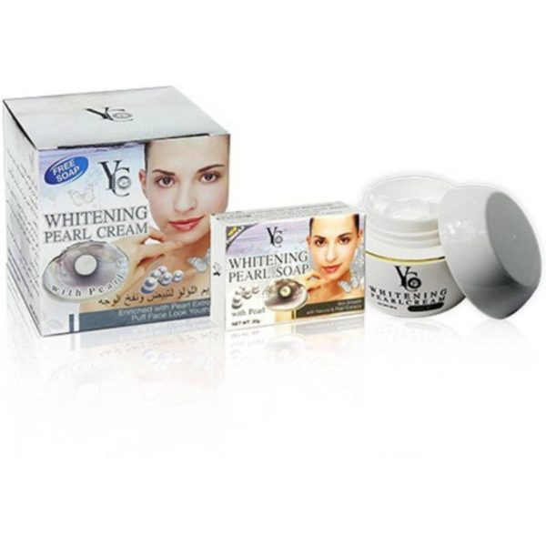YC Thailand Pearl Cream With Free Soap - 60Gm