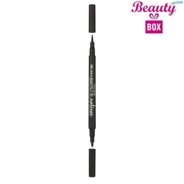 Beauty UK HD DUO Felt Tip Eyeliner - 2 Intense Black