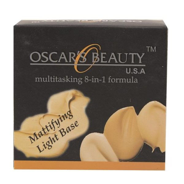 Oscar's Beauty 8-in-1 Mattifying Light Base - Ivory