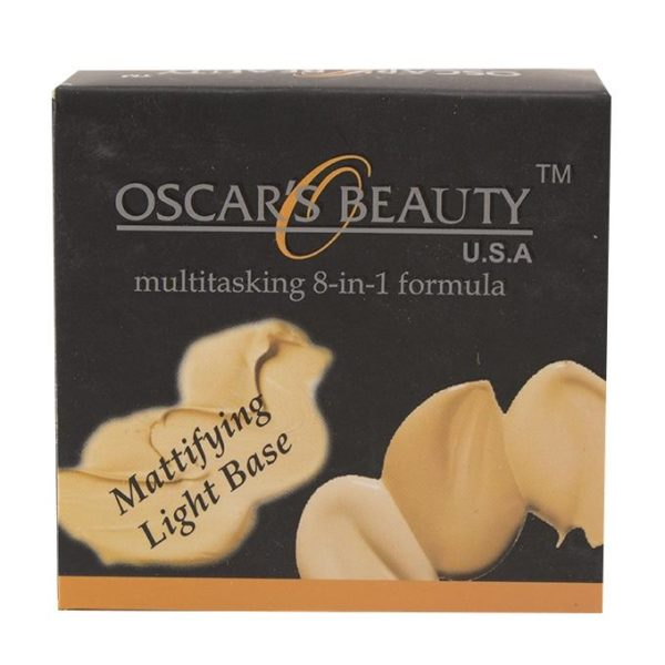 Oscar's Beauty 8-in-1 Mattifying Light Base - 4W