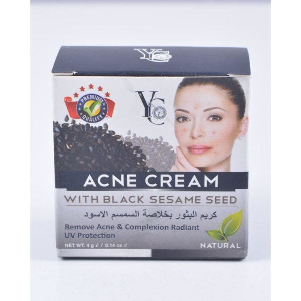 YC Thailand Black Sesame Seed Acne Cream - 4Gm