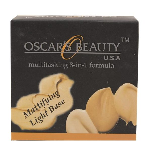 Oscar's Beauty 8-in-1 Mattifying Light Base - 303