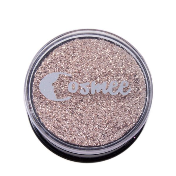 Cosmee Premium Glitter Eye Shadow - 07 Salmon