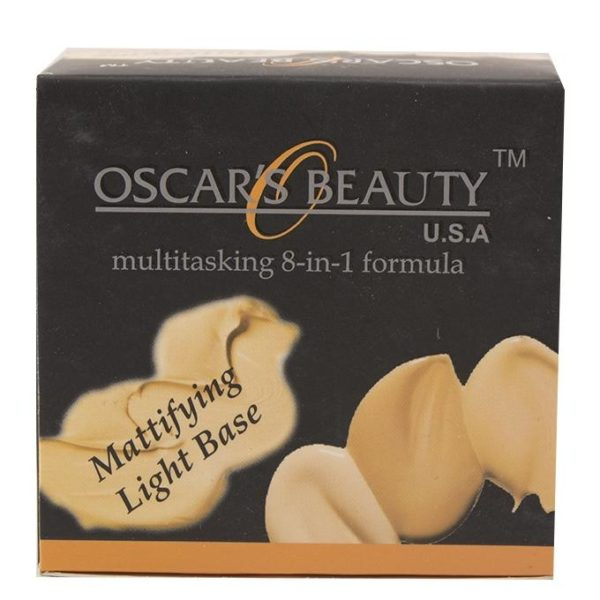 Oscar's Beauty 8-in-1 Mattifying Light Base - 1-W