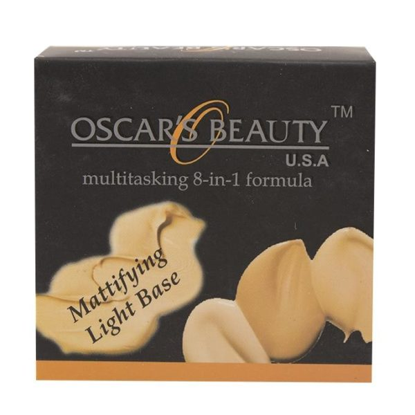 Oscar's Beauty 8-in-1 Mattifying Light Base - Fs-45