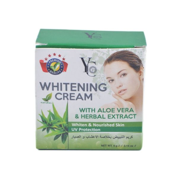 YC Thailand Whitening Cream Aloe Vera - 4Gm