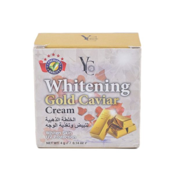YC Thailand Gold Caviar Whitening Cream - 4Gm