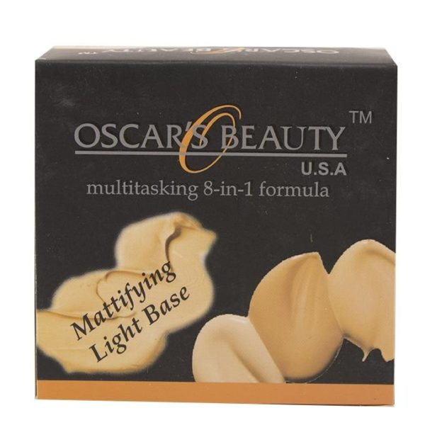 Oscar's Beauty 8-in-1 Mattifying Light Base - Chinese