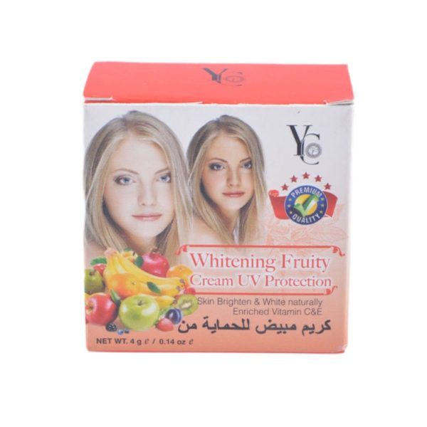 YC Thailand Whitening Fruity Cream Uv Protection - 4Gm