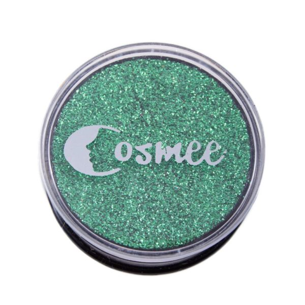 Cosmee Premium Glitter Eye Shadow - 14 Kelly green