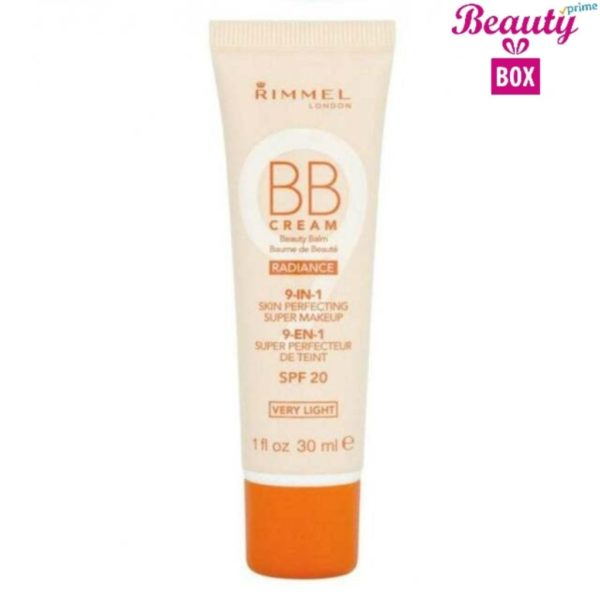 Rimmel 9 In 1 Radiance  BB Cream - Very Light