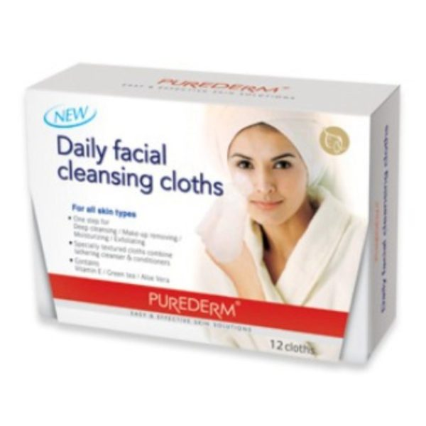 Purederm Daily Facial Cleansing Cloths