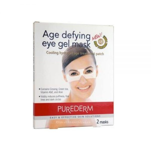 Purederm Age Defying Eye Gel Mask - 2 Masks
