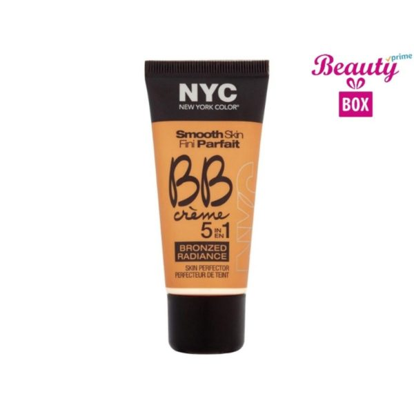 NYC Bronzed Radiance 5In1 BB Creme - 005 Medium