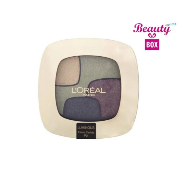 Loreal Color Riche Quad Luminous Eye Shadow - P2 Tresors Caches