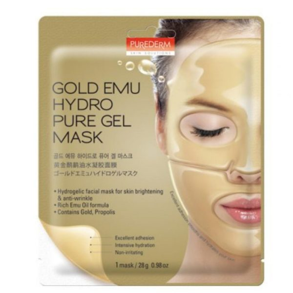 Purederm Gold Emu Hydro Pure Gel Mask