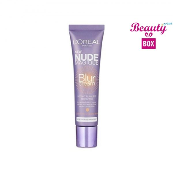 Loreal Nude Magique Blur Cream - Light To Medium