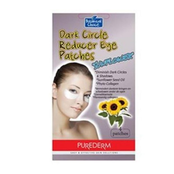 "Purederm Dark Circle Reducer Eye Patches ""Sunflower"" - 4 Patches"