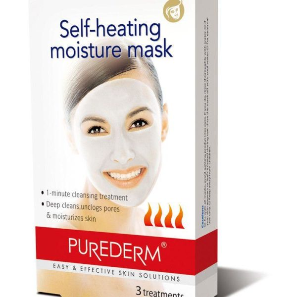 Purederm  Self-heating Moisture Mask - 3 treatments