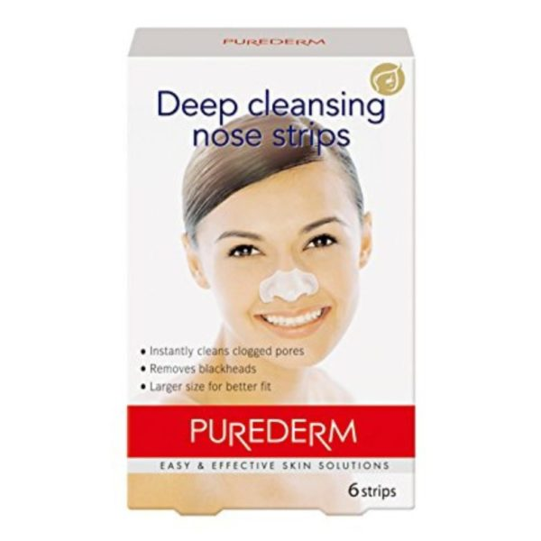 Purederm Deep Cleansing Nose Pore Strips - 6 strips