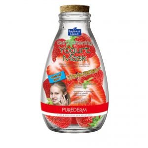 "Purederm Skin Softening Yogurt Mask ""Strawberry"""
