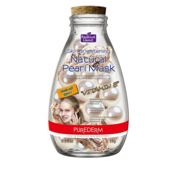 "Purederm Skin Brightening Natural Pearl Mask ""Vitamin E"