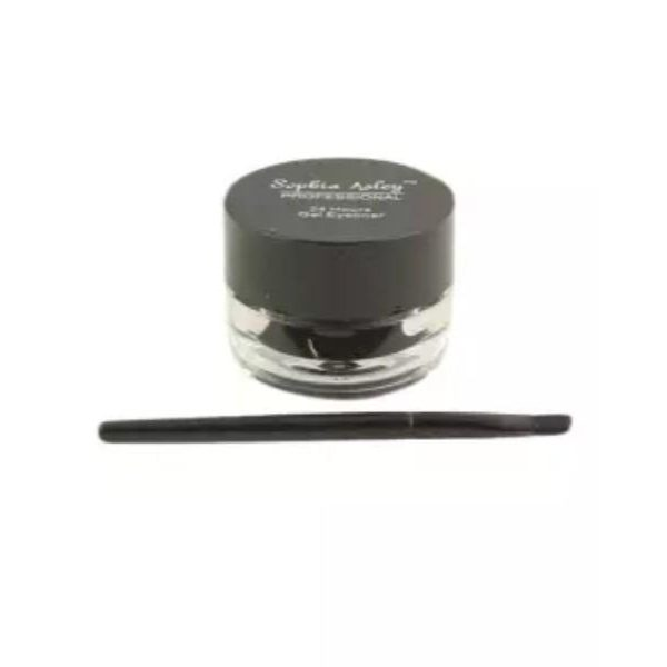 Sophia Asley 24 Hr's Gel Eyeliner With Brush - Black