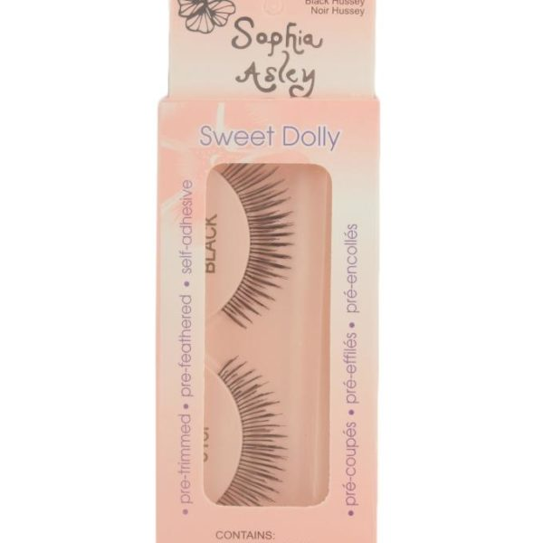 Sophia Asley EyeLashes - Black Hussy Noir Hussy