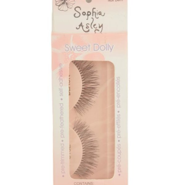 Sophia Asley EyeLashes - Black Demi Noir Demi