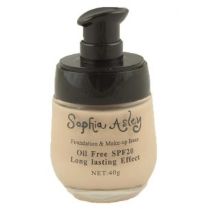 Sophia Asley 17 Hr's Oil Free Long Lasting Foundation - Fair