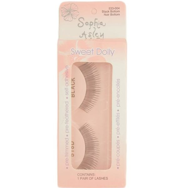 Sophia Asley EyeLashes - Black Bottom Noir Bottom