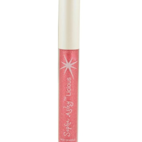 Sophia Asley Licious High Sparkle Lip Gloss - Indian Red