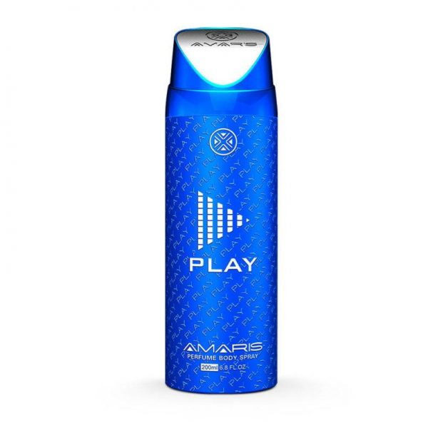 Amaris Play Men Body Spray - 200 Ml